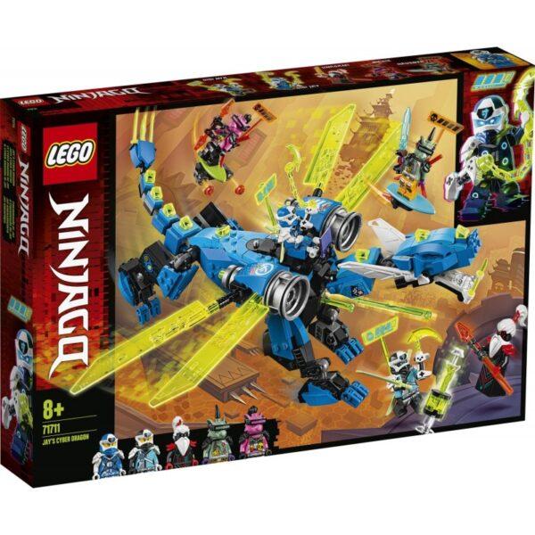 LEGO Ninjago Κυβερνοδράκος Του Τζέι 71711 LEGO, Lego Ninjago Αγόρι, Κορίτσι 7-12 ετών