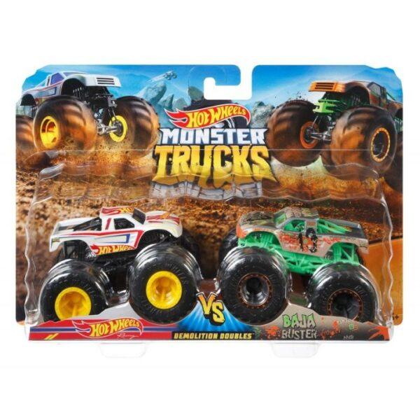 Hot Wheels Hot Wheels Οχήματα Monster Trucks Σετ Των 2 - 9 Σχέδια FYJ64 3-4 ετών, 4-5 ετών, 5-7 ετών Αγόρι