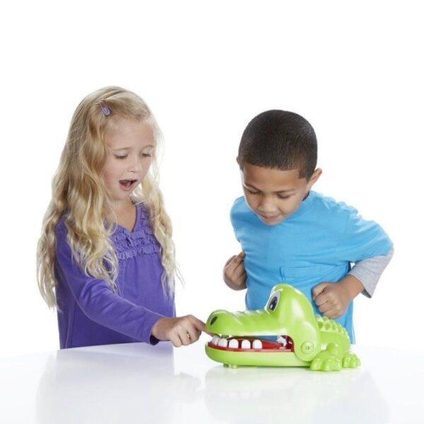 Hasbro Gaming Αγόρι, Κορίτσι 4-5 ετών, 5-7 ετών Επιτραπέζιο Crocodile Dentist - Κροκοδειλοδοντάκιας B0408