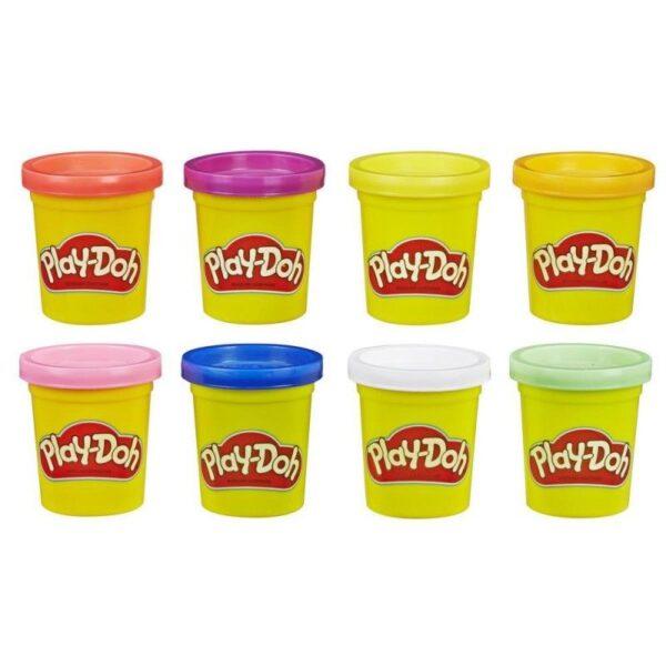Play-Doh Rainbow Μη Τοξικά Πλαστοζυμαράκια Με 8 Χρώματα E5044  Αγόρι, Κορίτσι 3-4 ετών, 4-5 ετών Play-Doh