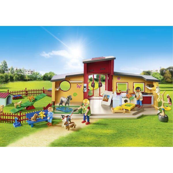 Playmobil City Life Ξενώνας μικρών ζώων 9275 Αγόρι, Κορίτσι 4-5 ετών, 5-7 ετών  Playmobil, Playmobil City Life