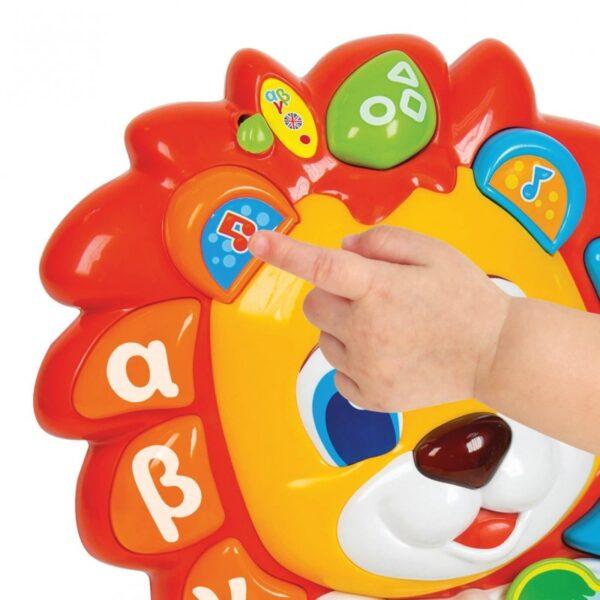 Baby Clementoni Αγόρι, Κορίτσι 12-24 μηνών, 6-12 μηνών Baby Clementoni Βρεφικό Παιχνίδι Λέων Το Λιονταράκι 1000-63366
