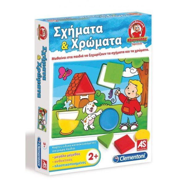 Clementoni  Εξυπνούλης Σχήματα Και Χρώματα Εκπαιδευτικό 1024-63787 Clementoni Αγόρι, Κορίτσι 2-3 ετών