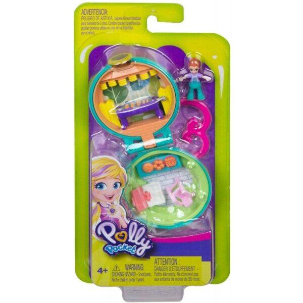 Polly Pocket Polly Pocket Polly Pocket Tiny Compact Μίνι Σετάκια Μπρελόκ GKJ39 3 Σχέδια Κορίτσι 4-5 ετών, 5-7 ετών
