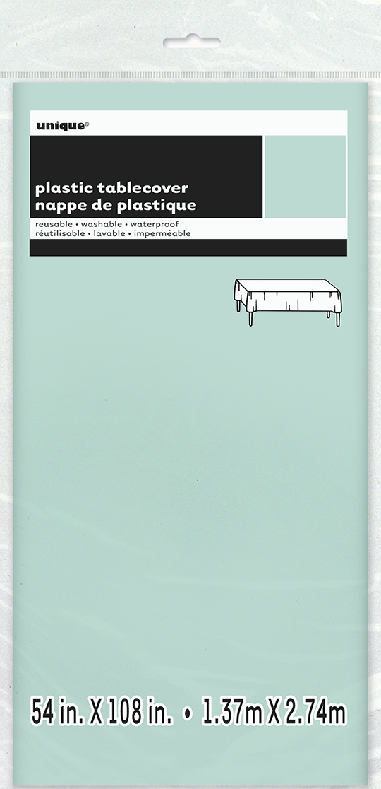 Unique Μέντα  Πλαστικό Τραπεζομάντηλο 137x2,74 U99223    Unique