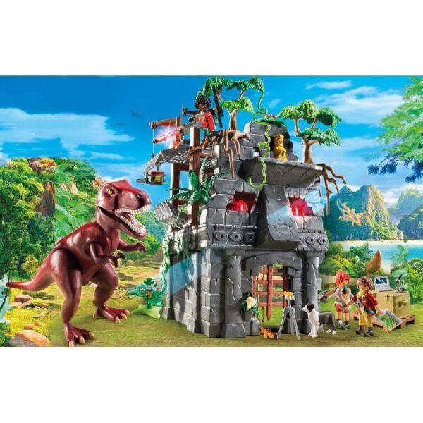 Playmobil, Playmobil Dinos  Playmobil Dinos Αρχηγείο των Εξερευνητών και Τ-Ρεξ 9429 Αγόρι 4-5 ετών, 5-7 ετών