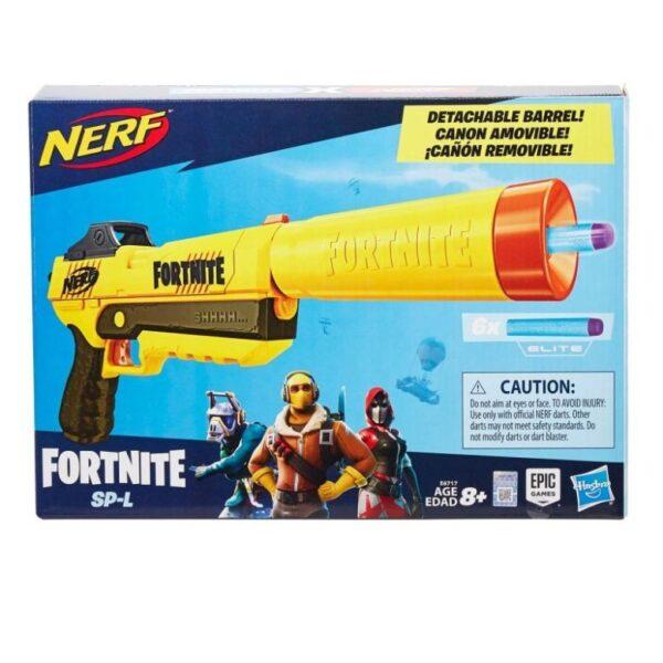 Nerf Fortnite SP-L Elite Dart Supp Pistol E6717 Fortnite Αγόρι 12 ετών +, 7-12 ετών NERF