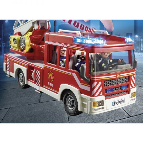 Playmobil City Action Όχημα Πυροσβεστικής με σκάλα και καλάθι διάσωσης 9463  Αγόρι 4-5 ετών, 5-7 ετών Playmobil, Playmobil City Action