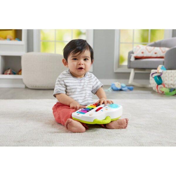 Fisher-Price  Fisher-Price Laugh And Learn Εκπαιδευτικό Πιάνο Με Φώτα GFV21 Αγόρι, Κορίτσι 12-24 μηνών, 6-12 μηνών