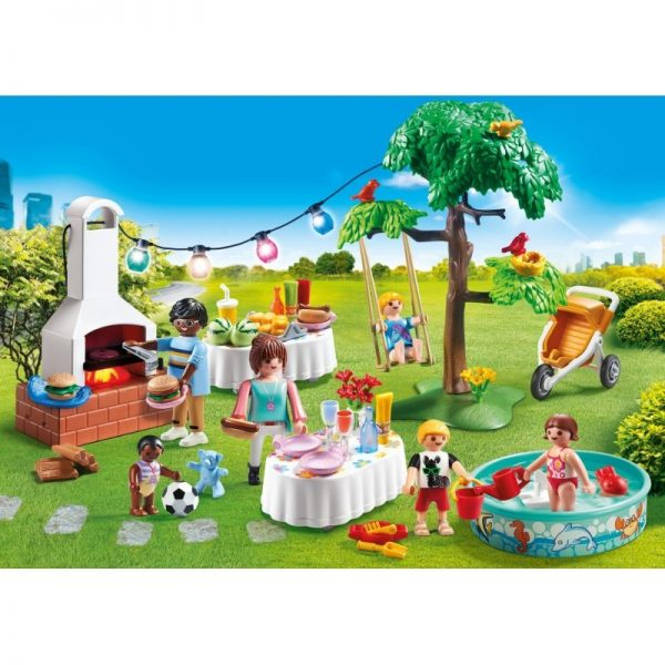 Playmobil City Life Πάρτυ στον κήπο με barbecue 9272 Κορίτσι 4-5 ετών, 5-7 ετών  Playmobil, Playmobil City Life