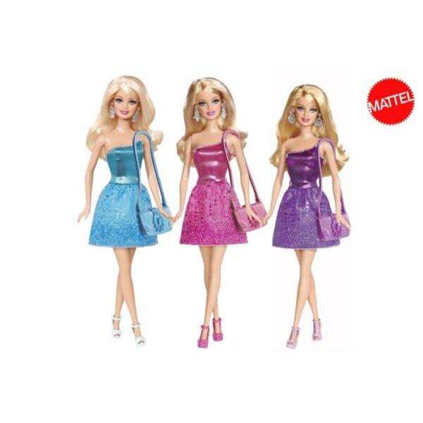 Barbie Μini Φορέματα 3 σχέδια T7580 BARBIE Κορίτσι 3-4 ετών, 4-5 ετών, 5-7 ετών Barbie