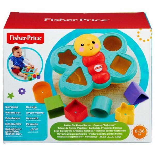 Fisher-Price  Fisher-Price Πεταλούδα Με Σχήματα CDC22 Αγόρι, Κορίτσι 12-24 μηνών, 6-12 μηνών