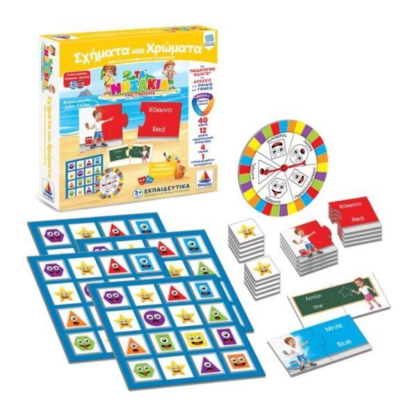 Τα Νησάκια Της Γνώσης Σχήματα Και Χρώματα 100703  Αγόρι, Κορίτσι 3-4 ετών, 4-5 ετών Desyllas Games
