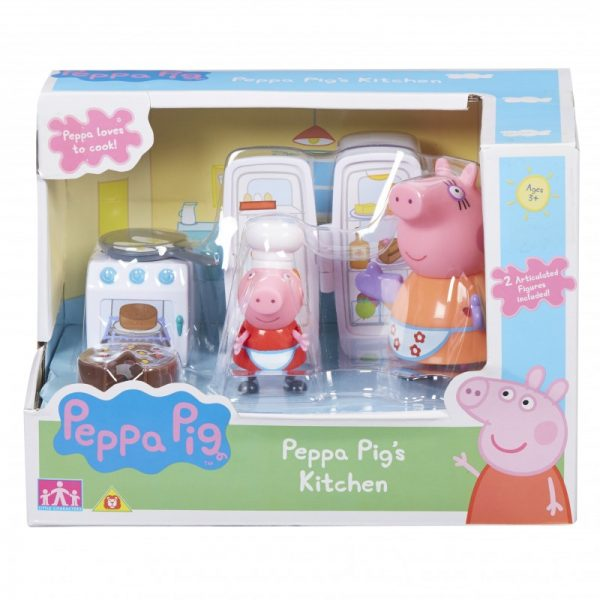 Peppa Pig  Peppa Pig Kουζίνα / Κάμπινγκ με 2 φιγούρες PPC40000 Αγόρι, Κορίτσι 3-4 ετών, 4-5 ετών