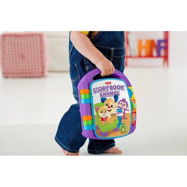 Fisher-Price  Fisher-Price Παίζω Και Μαθαίνω - Εκπαιδευτικό Βιβλίο FVT24 Αγόρι, Κορίτσι 12-24 μηνών, 6-12 μηνών