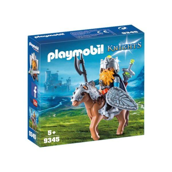 Playmobil Knights Νάνος πολεμιστής με Πόνυ 9345 Playmobil, Playmobil Knights Αγόρι 4-5 ετών, 5-7 ετών