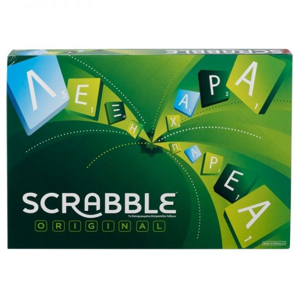 Επιτραπέζιο Scrabble Original Y9600 Mattel Games Αγόρι, Κορίτσι 12 ετών +, 7-12 ετών