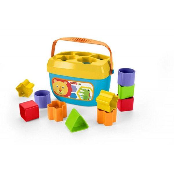 Fisher-Price Νέος Κύβος Με Σχήματα FFC84 Fisher-Price Αγόρι, Κορίτσι 12-24 μηνών, 6-12 μηνών