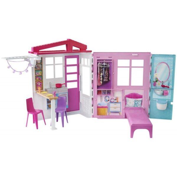 Barbie Νέο Σπιτάκι - Βαλιτσάκι FXG54 BARBIE Κορίτσι 3-4 ετών, 4-5 ετών, 5-7 ετών Barbie