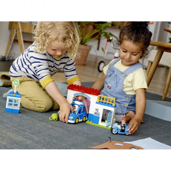 LEGO, Lego Duplo, Lego Duplo Town Αγόρι, Κορίτσι 2-3 ετών, 3-4 ετών LEGO Duplo Town Αστυνομική Μοτοσικλέτα 10900