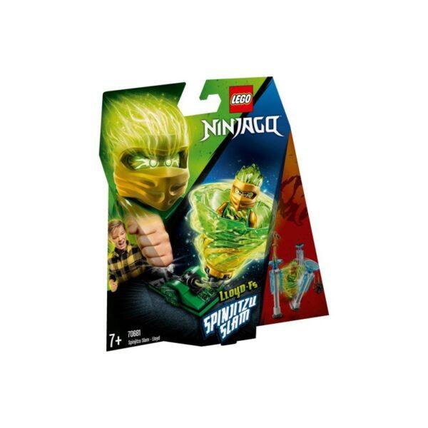 LEGO Ninjago Σπιντζίτσου Σλαμ - Λόϊντ 70681 LEGO, Lego Ninjago Αγόρι, Κορίτσι 7-12 ετών