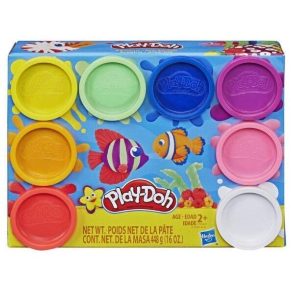 Play-Doh Rainbow Μη Τοξικά Πλαστοζυμαράκια Με 8 Χρώματα E5044 Play-Doh Αγόρι, Κορίτσι 3-4 ετών, 4-5 ετών