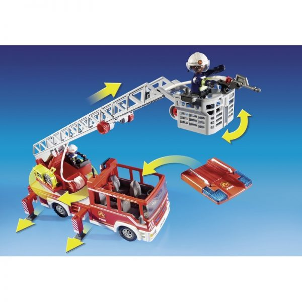 Playmobil, Playmobil City Action Αγόρι 4-5 ετών, 5-7 ετών Playmobil City Action Όχημα Πυροσβεστικής με σκάλα και καλάθι διάσωσης 9463