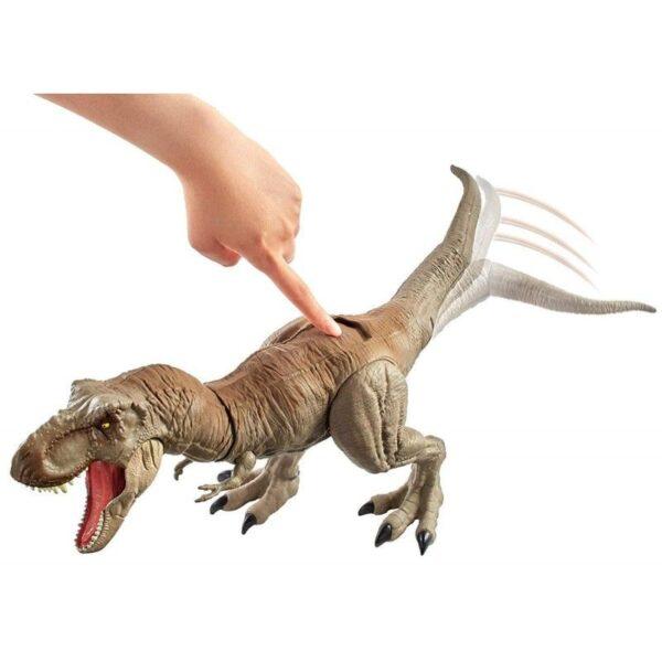 Jurassic World Jurassic World Jurassic World T-Rex Δεινόσαυρος Με Κινούμενη Ουρά Και Κεφάλι GCT91 Αγόρι 4-5 ετών, 5-7 ετών