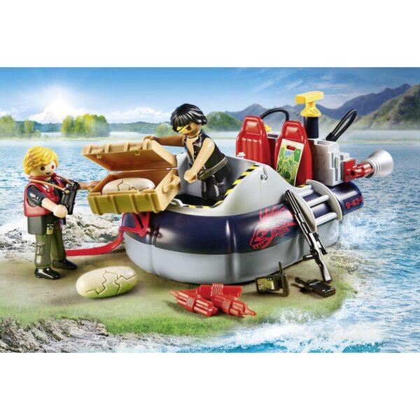Playmobil, Playmobil City Action Αγόρι 4-5 ετών, 5-7 ετών Playmobil City Action Χόβερκραφτ με εξερευνητές δεινοσαύρων 9435