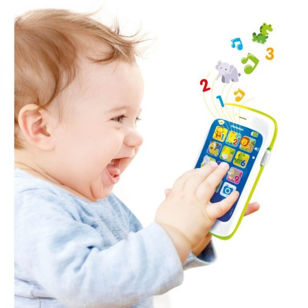 Baby Clementoni  Baby Clementoni Βρεφικό Παιχνίδι Το Πρώτο Μου Smartphone 1000-63208 Αγόρι, Κορίτσι 12-24 μηνών