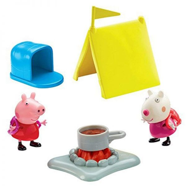 Peppa Pig Kουζίνα / Κάμπινγκ με 2 φιγούρες PPC40000  Αγόρι, Κορίτσι 3-4 ετών, 4-5 ετών Peppa Pig
