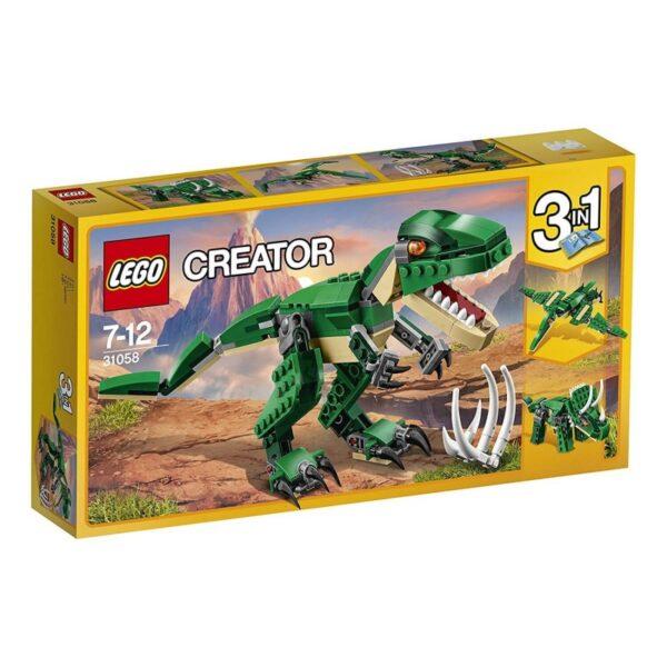 LEGO Creator Πανίσχυροι Δεινόσαυροι 31058 LEGO, Lego Creator Αγόρι, Κορίτσι 7-12 ετών
