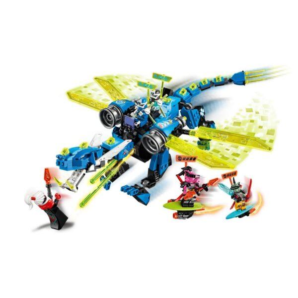 LEGO, Lego Ninjago  LEGO Ninjago Κυβερνοδράκος Του Τζέι 71711 Αγόρι, Κορίτσι 7-12 ετών