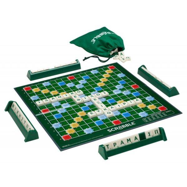 Επιτραπέζιο Scrabble Original Y9600  Αγόρι, Κορίτσι 12 ετών +, 7-12 ετών Mattel Games