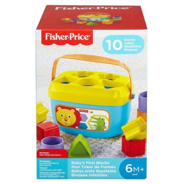 Fisher-Price Αγόρι, Κορίτσι 12-24 μηνών, 6-12 μηνών Fisher-Price Νέος Κύβος Με Σχήματα FFC84