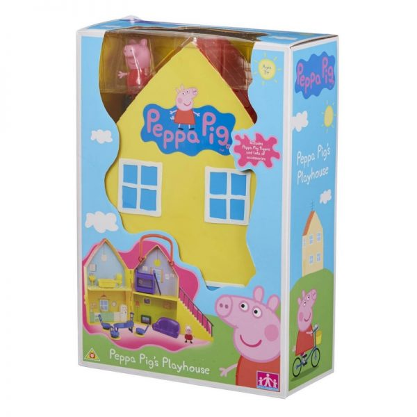 Peppa Pig Σπίτι με 1 φιγούρα GPH01469 Peppa Pig Αγόρι, Κορίτσι 3-4 ετών, 4-5 ετών