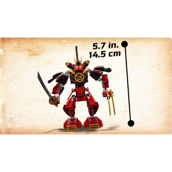 LEGO, Lego Ninjago Αγόρι, Κορίτσι 7-12 ετών LEGO Ninjago Το Ρομπότ Σαμουράι - The Samurai Mech 70665