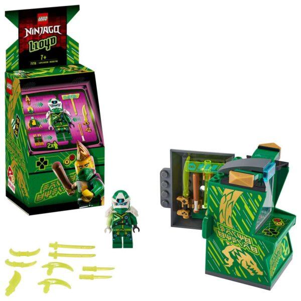 LEGO Ninjago Άβαταρ Λόιντ - Παιχνιδομηχανή Arcade 71716 Αγόρι, Κορίτσι 7-12 ετών  LEGO, Lego Ninjago