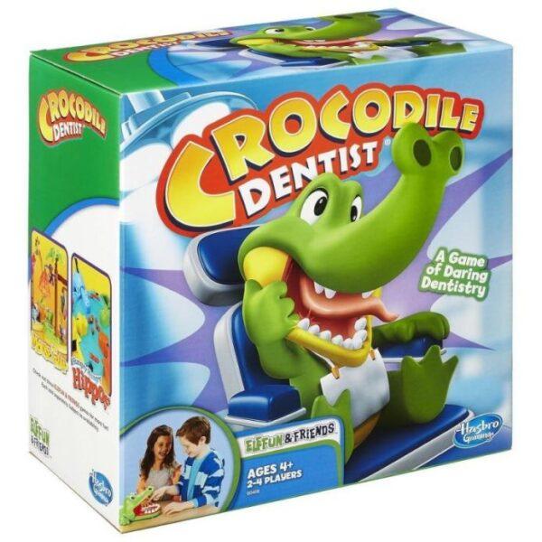 Επιτραπέζιο Crocodile Dentist - Κροκοδειλοδοντάκιας B0408  Αγόρι, Κορίτσι 4-5 ετών, 5-7 ετών Hasbro Gaming