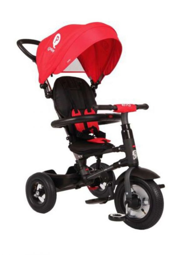 QPlay Rito  Τρίκυκλο Air Wheels Red 01-1212040-02 Q Play Αγόρι, Κορίτσι 2-3 ετών