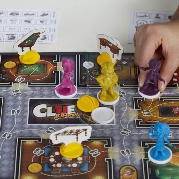Hasbro Gaming  Επιτραπέζιο Cluedo Junior C1293 Αγόρι, Κορίτσι 3-4 ετών, 4-5 ετών