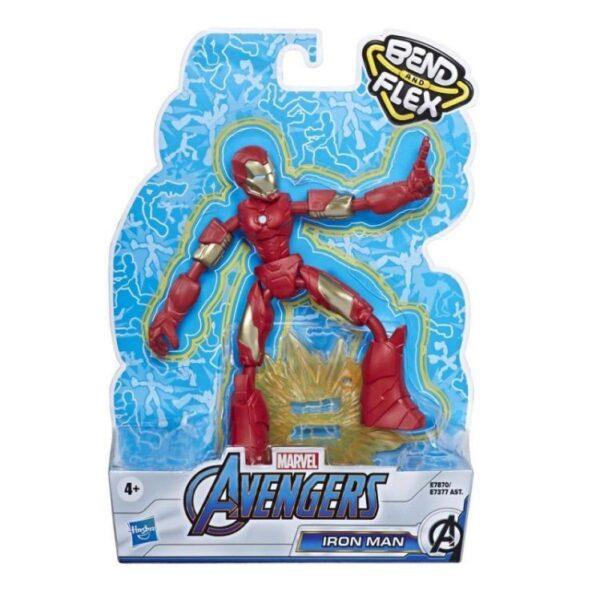 Avengers Avengers Αγόρι 4-5 ετών, 5-7 ετών Marvel Avengers Bend And Flex Φιγούρα Δράσης 15 Εκ E7377
