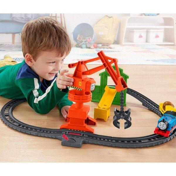 Thomas And Friends Crane And Cargo Μεταφορές Με Την Cassia Το Γερανό Με Τον Τόμας GHK83 3-4 ετών, 4-5 ετών, 5-7 ετών Αγόρι Thomas The Train Thomas the train