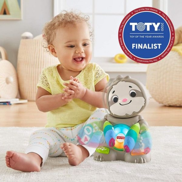 Fisher-Price Αγόρι, Κορίτσι 12-24 μηνών, 6-12 μηνών Fisher-Price Linkimals Βραδύπους, Ο Χορευταρούλης GJP59