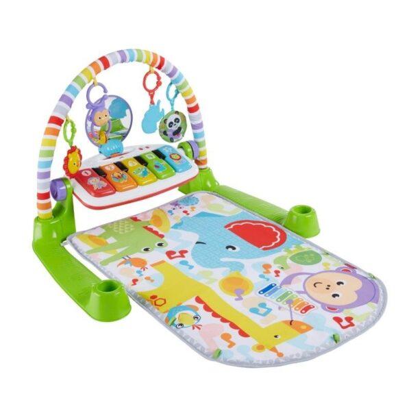 Fisher-Price Deluxe Εκπαιδευτικό Γυμναστήριο - Μουσικό Πιανάκι FWT15 Fisher-Price Αγόρι, Κορίτσι 0-6 μηνών, 6-12 μηνών