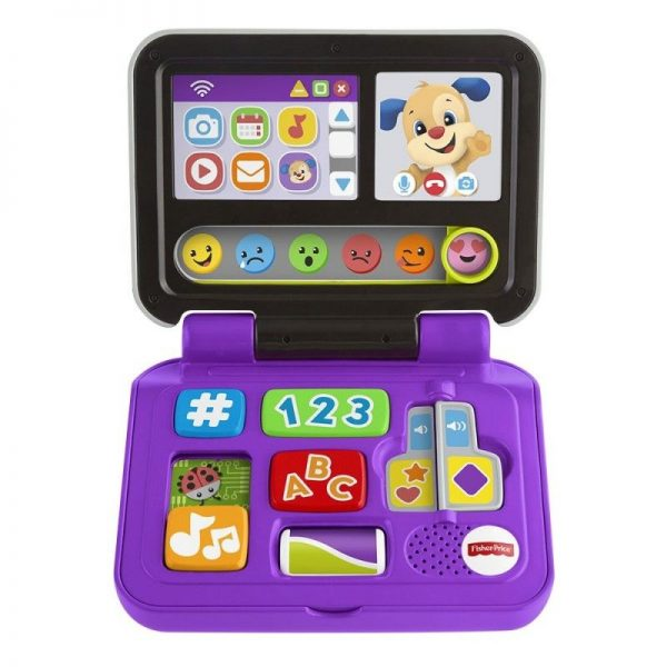 Fisher-Price Laugh And Learn Εκπαιδευτικό Laptop FXK48 Fisher-Price Αγόρι, Κορίτσι 12-24 μηνών, 6-12 μηνών