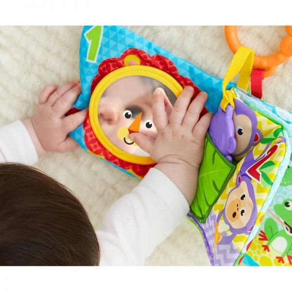 Fisher-Price Μαλακό Βιβλιαράκι Δραστηριοτήτων FGJ40 0-6 μηνών, 6-12 μηνών Αγόρι, Κορίτσι Fisher-Price