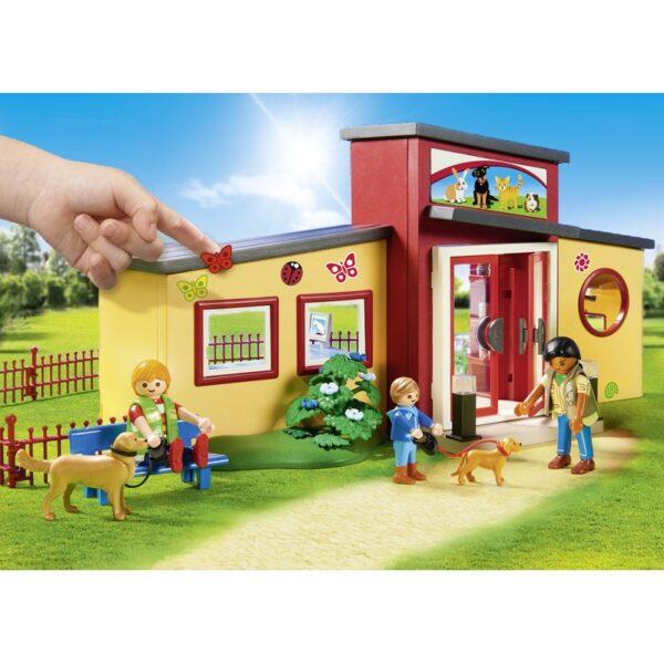 Playmobil, Playmobil City Life Αγόρι, Κορίτσι 4-5 ετών, 5-7 ετών Playmobil City Life Ξενώνας μικρών ζώων 9275