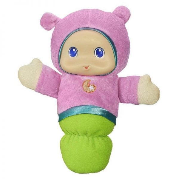 Φωτεινός Αγκαλίτσας Llullaby Gloworm A1204  Αγόρι, Κορίτσι 0-6 μηνών, 6-12 μηνών Playskool