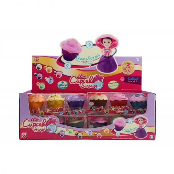 Cup Cake Mini Surprise Princess Doll Glitter 3τμχ Cup Cake Κορίτσι 3-4 ετών, 4-5 ετών